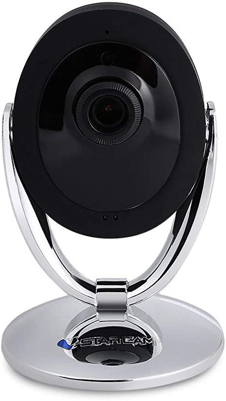 Opinión sobre VStarcam C93 WIP 720P - Cámara de vigilancia WiFi para visión nocturna, detección de movimiento, vigilancia IP, seguridad de red, cámara de red interior, audio bidireccional para bebé