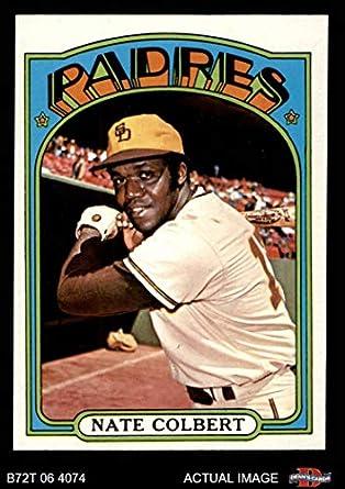 Amazoncom 1972 Topps 571 Nate Colbert San Diego Padres