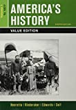 img - for America's History, Value Edition, Volume 1 8e & LaunchPad for America's History Volume I & America: A Concise History, Volume I 6e (Six Month Access) book / textbook / text book