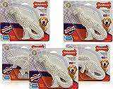 Nylabone 5 Pack of Power Chew Dental Dinosaur, Regular, Assorted Shapes