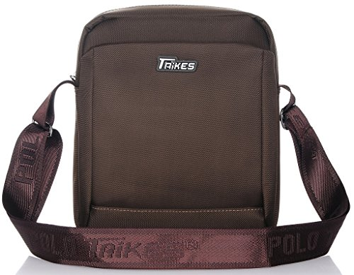 TAIKES Men's Shoulder Travel Messager Bag Crossbody Ipad Bag Daypack Blue-4