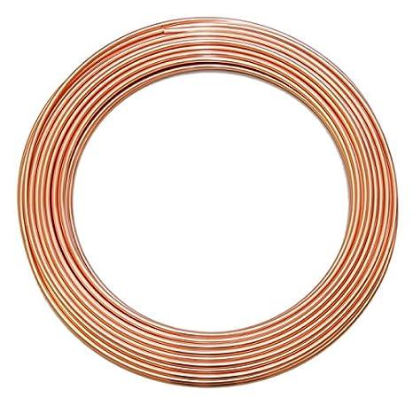 Kupferrohr 15 x 1,0 mm weich im Ring R220-25 m Ring