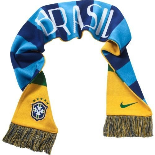 f3e3e9f1fddd Nike Brazil Supporters Scarf  Varsity Maize  (OS) by NIKE