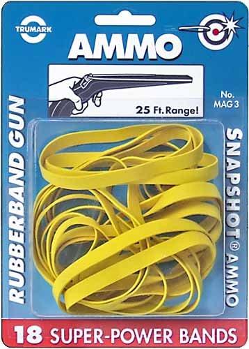 Trumark Slingshots Ammo Rubberband (18 CT)