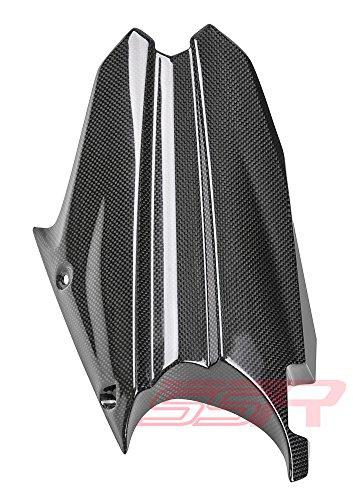 ((2013-2015) Triumph Street Triple 675 / 675R (100%) Carbon Fiber Fibre Rear Tire Cover Fender Hugger Mudguard Fairing)