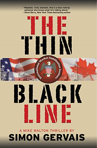 The Thin Black Line: A Mike Walton Thriller by [Gervais, Simon]