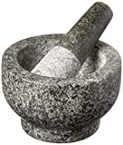 Cole & Mason H111834U Granite Mortar & Pestle, 4-Pound, Gray