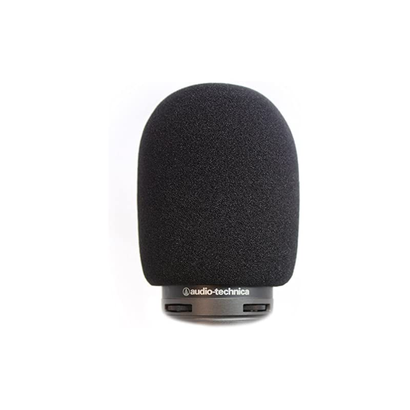 AT2020 Foam Windscreen by Vocalbeat - The Perfect Pop Filter for Your Audio  Technica Microphone - Made from Quality Sponge Material that Filter