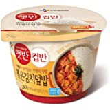 CJ Hetbahn Cupbahn Cooked White Rice with Stir-Fried Kimchi 247g (Pack of 6)