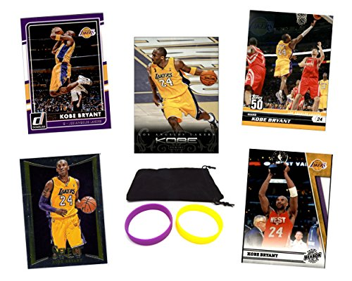 Bryant Assorted Basketball Cards Bundle product image