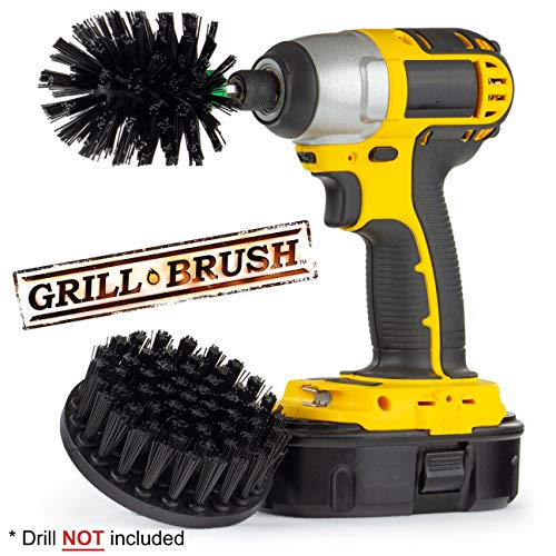 BBQ Grill Brush - Grill Accessories - BBQ Grill - Grill Cleaner - Grill Tools - BBQ Brush - Electric Smoker - Smokers and Grills - Grill Scraper - BBQ Tools (Grill And Smoker Accessories)