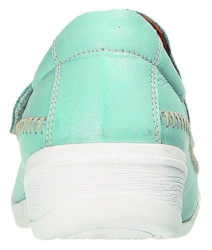 bleu Lacets Miccos Chaussures Bleu Ville de à Femme Clair Bleu Pour clair wvvHT6I7q