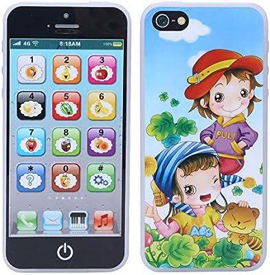 Amazon.es: Teléfono móvil para niños, educación Infantil, Juguete ...