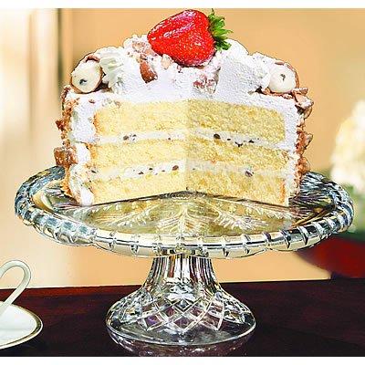 Fifth Avenue Portico 11-Inch Ped Cake Plate