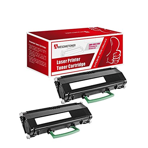 Awesometoner Compatible 2 Pack 330-4130 330-4131 M795K Toner