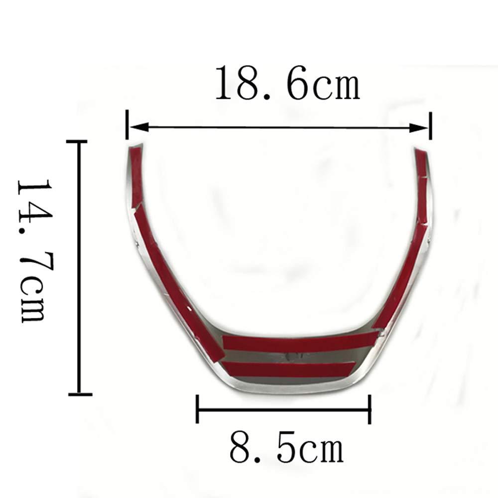 Volante Tagliare Decorativo Telaio Copertina Etichetta Adattarsi per 1 3 Series F20 F30 320i 325i 328i fibra di carbonio volante trim