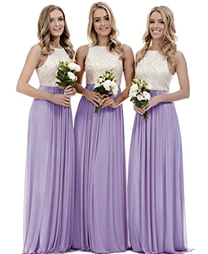 lavender and pink wedding dresses - 9