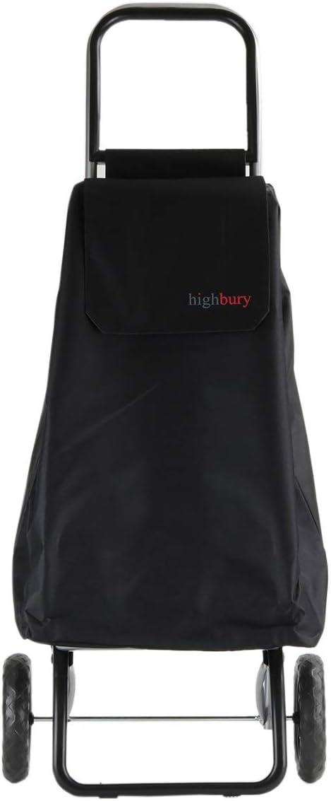 Highbury Carrello per la spesa 47 l 102cm x 40cm x 30cm Burgundy 2 ruote