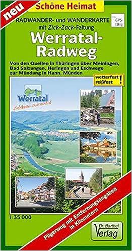 Werratal-Radweg: Von den Quellen in Thüringen über Meiningen