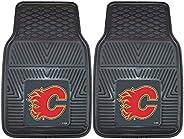 Fanmats NHL Calgary Flames Vinyl Heavy Duty Car Mat