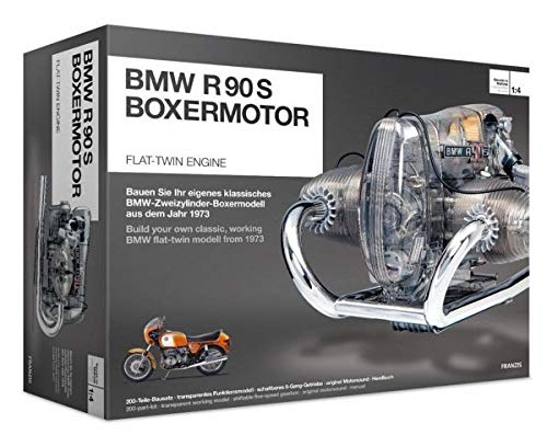 Collectors Engine - BMW R/90-S Flat Twin Airhead Engine Model Kit with Collector's Manual