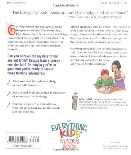 Kids' Mazes Book: Twist, Squirm, and Wind Your Way Through Subways ...