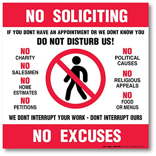 Pack Soliciting Excuses Decal A86 268 4VL