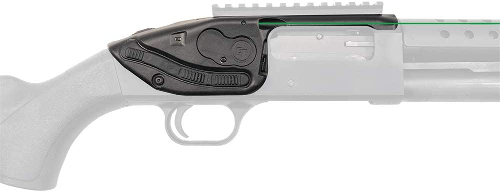 Crimson Trace Shotgun Lasersaddle with Ambidextrous Control, Easy Adjustments and Quick Installation for Laser Sighting, Shooting, Competition and Range