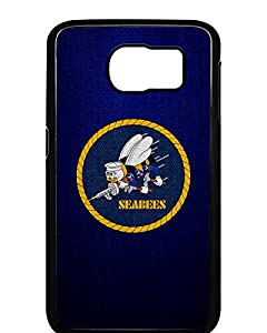 Case for Samsung Galaxy 6 - US Naval Construction Force (CBs, SeaBees) from ExpressItBest.com