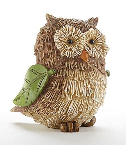 4.5X3.5Rs Twig Owl W//Leaf Wng