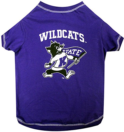 - NCAA Kansas State Wildcats Dog T-Shirt, Medium