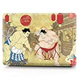 MacBook 12'' with Retina Display Case,Hard Plastic Protective Case Soft-Touch For MacBook 12 Inch(Model:A1534) - Retro Sumo