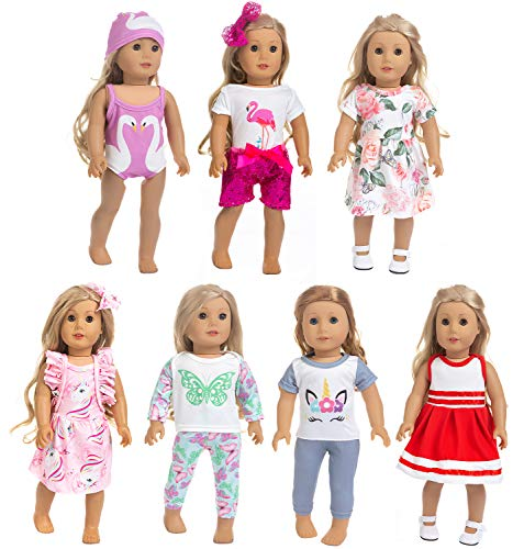 ZQDOLL 18 inch Doll Clothes and ...