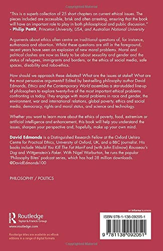 Ethics and the Contemporary World: Amazon co uk: David