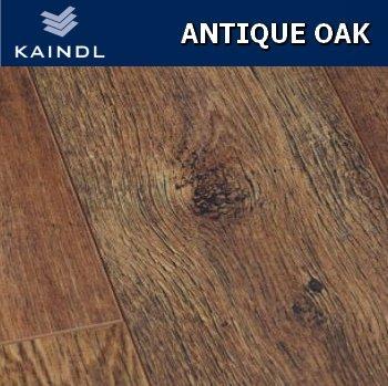 Kaindl Antique Oak Laminate Flooring 8mm V Groove 24m2 Wood Floor