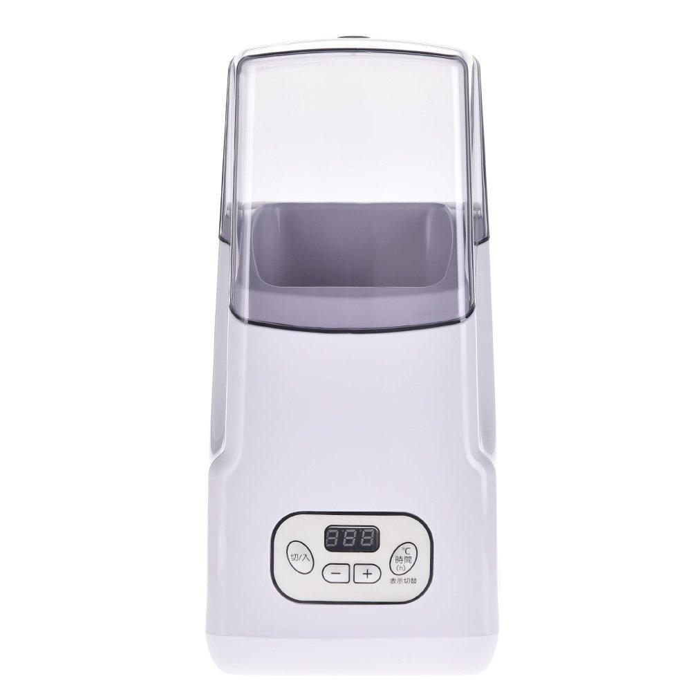Yunt 1L Full-automatic Household Yogurt Maker No-clean Yogurt Machine for Making Yogurt, Bean-shaped Biscuits, Rice Wine, Adjust Temperature Time