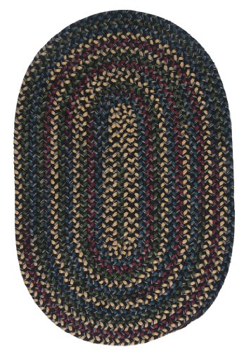 Midnight Rug, 4 by 6-Feet, Carbon