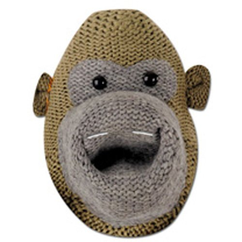Monkey (Most Famous) Character Face Card Mask,Impersonation/Fancy Dress
