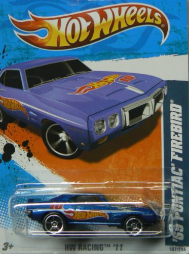 hot wheels 69 pontiac firebird - 2