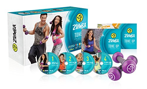 New - Zumba Tone Up - Arms -Back & Core Sculpting System