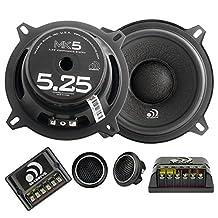 "Massive Audio MK5-5 Inch, 5.25"" 260 Watts Max / 130w RMS, 4 Ohm, MK Series, Component Car Audio Speaker System (Pair)"