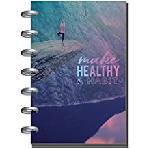 Create365 The Happy Planner Mini Fitness For You Health Food Tracker- 12 Month January-December 2018, Dated