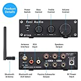 Bluetooth 5.0 Stereo Audio Amplifier 2.1 Channel