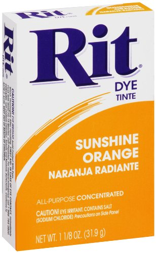 Unique Diy Costumes Halloween (Rit All-Purpose Powder Dye, Sunshine Orange)