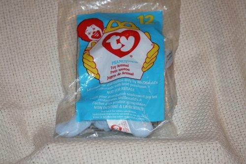 Mcdonalds Teenie Beanie Babies (TY McDonald's Teenie Beanie - #12 PEANUT the Light Blue Elephant (1998))