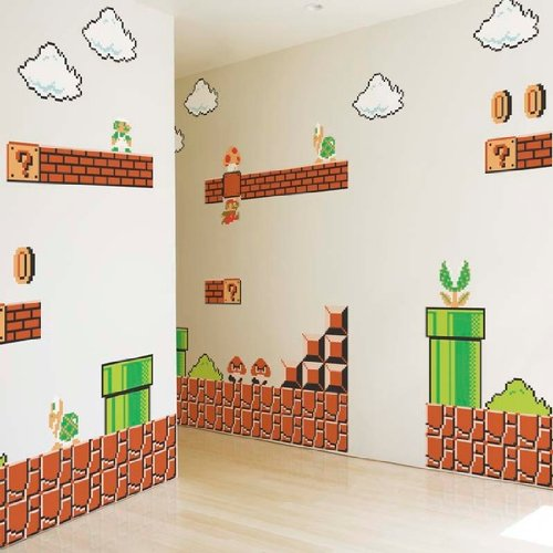 Nintendo Wall Graphics   Super Mario Bros   Nintendo Wall Decals    Amazon.com Part 7