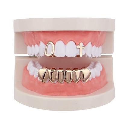 Parte inferior superior de la parrilla de dientes Unisex ...