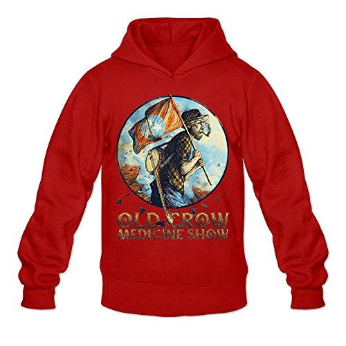 Caili Men's Old Crow Medicine Show Album Logo Hoodies Sweatshirts L - Shirt Matt Cain