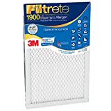 Filtrete 1900 MPR Maximum Allergen Electrostatic Pleated Air Filter, (Pack of 3)