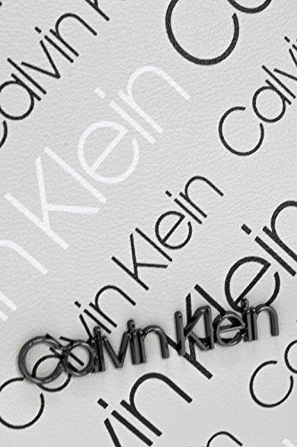 Para Color Size Hombro Talla Al Mujer Gris Bolso Size Klein De One Calvin Poliuretano xaHYvnz